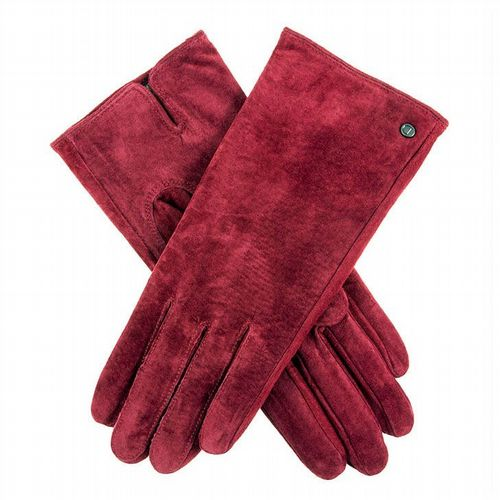Dents - Women's Suede Gloves - Red